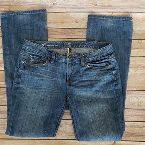Loft Boot Cut Jeans